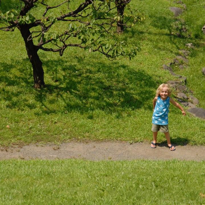 travel with kids japan tokyo japanese garden