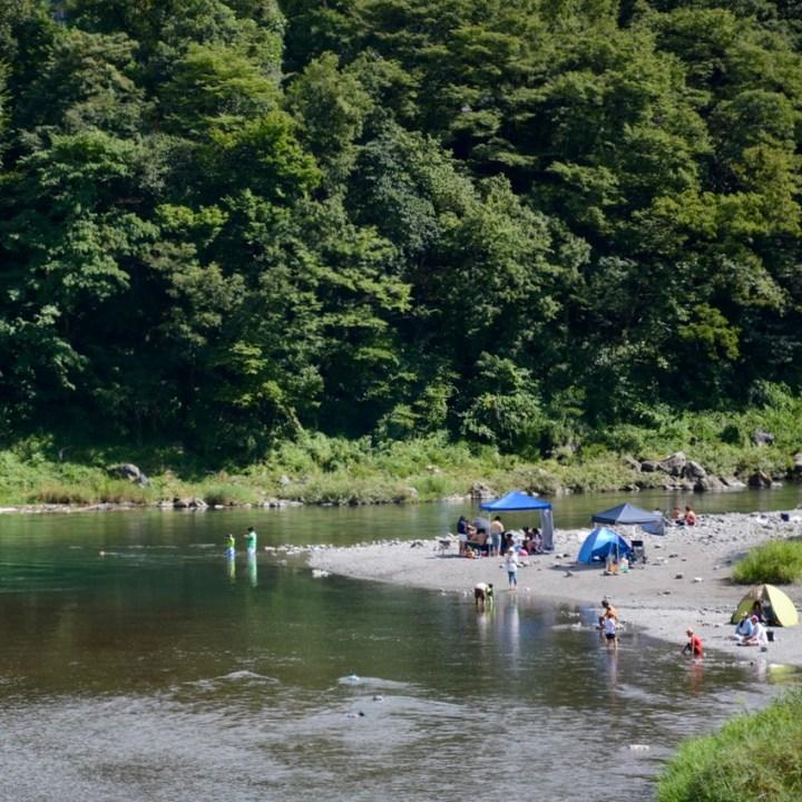 tama river cycling river swimming