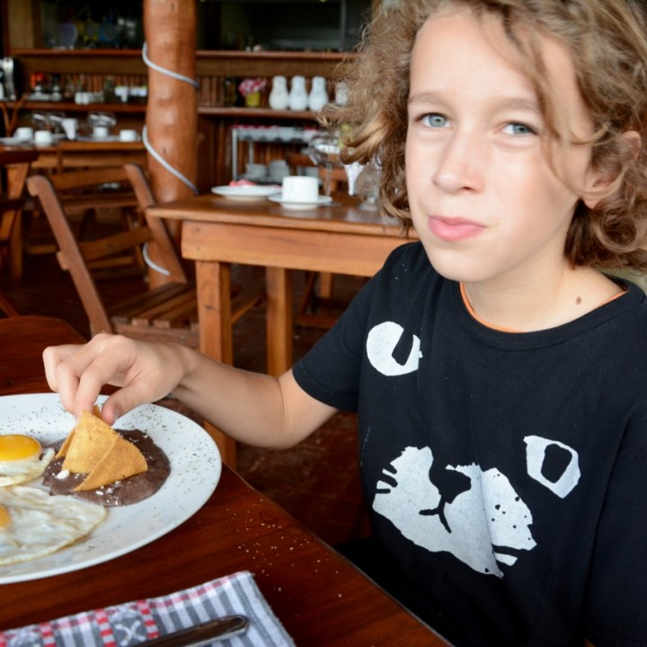 Cancun Mexico valladolid hotel zentic project breakfast