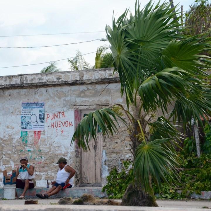 Travel with children kids mexico rio lagartos locals