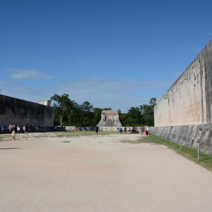 travel with children kids mexico chichen itza great ball court