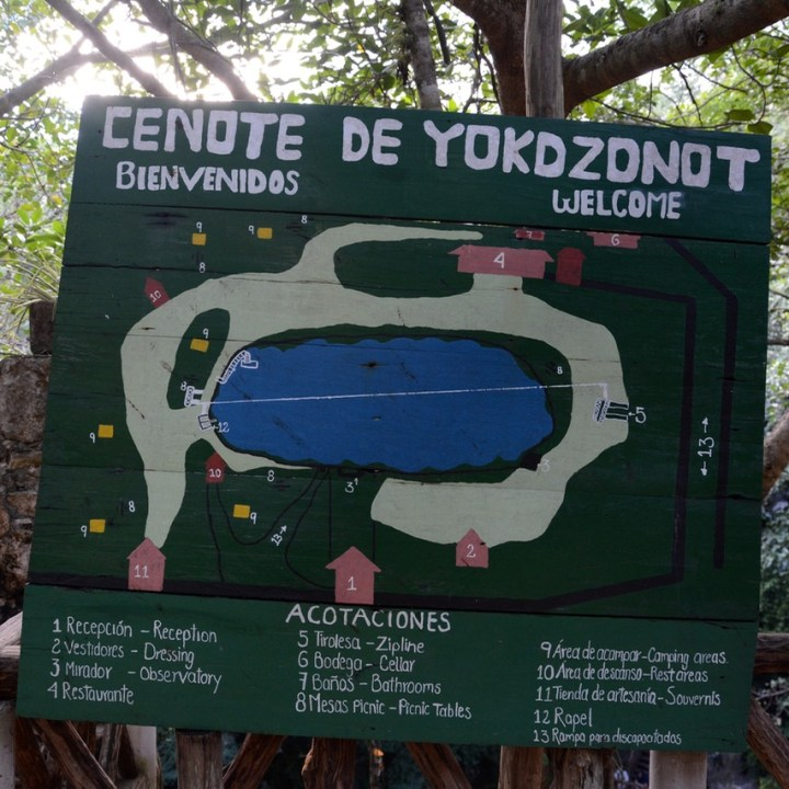 travel with children kids Yokdzonot Cenote