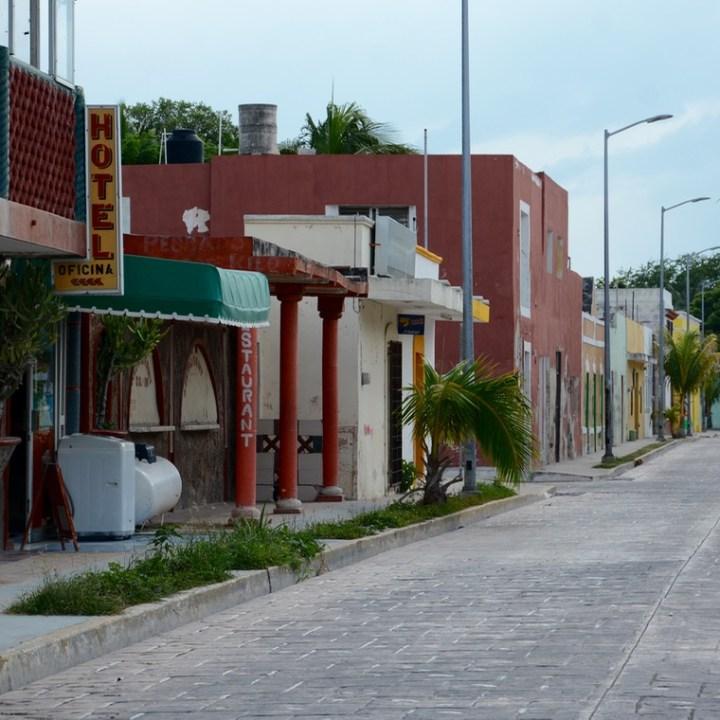Travel with children kids mexico celestun hotel restaurant