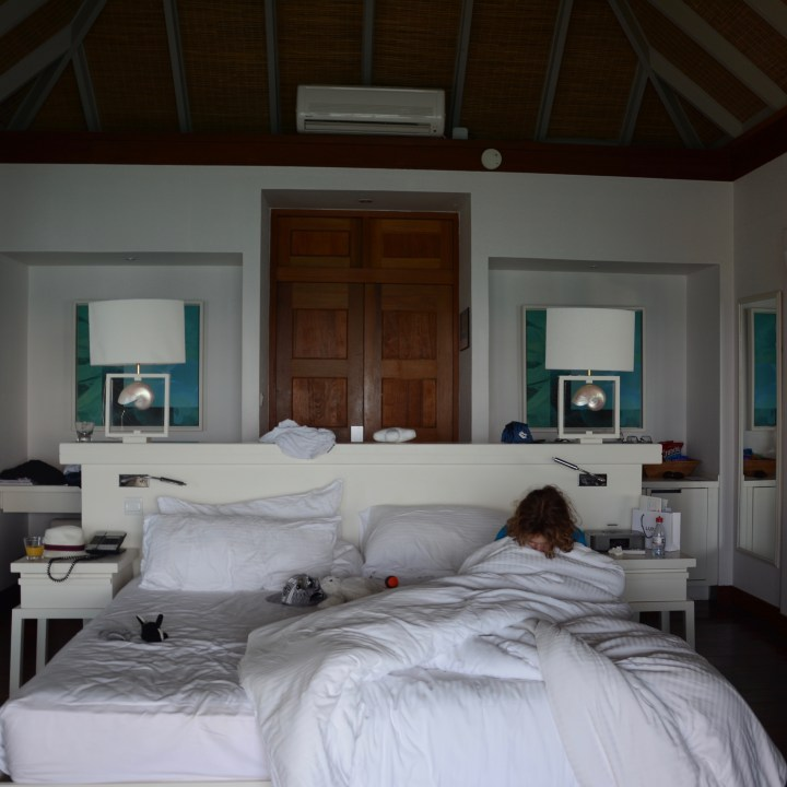 travel with children kids maldives lux south ari atoll bedroom