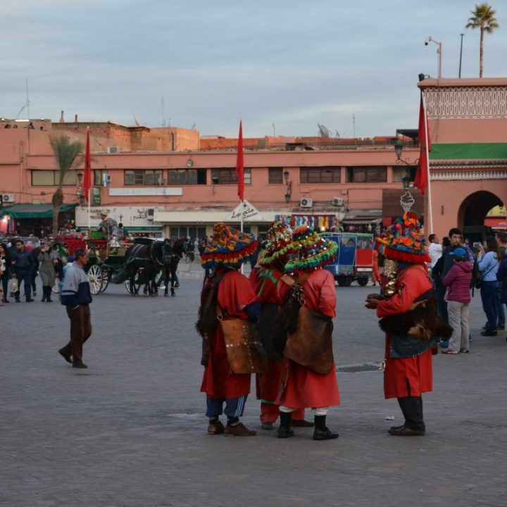 Travel with children kids Marrakesh morocco medina jemmy el fna berbers