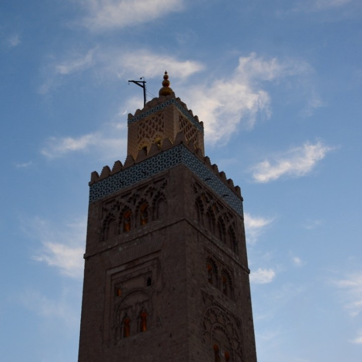 Travel with children kids Marrakesh morocco medina jemmy el fna koutoubia mosque