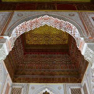 travel with children kids morocco marrakech saadian tombs king grave