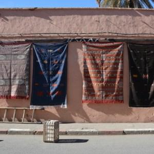 travel with children kids morocco marrakech souk carpets