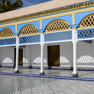 travel with children kids morocco marrakech bahia palace