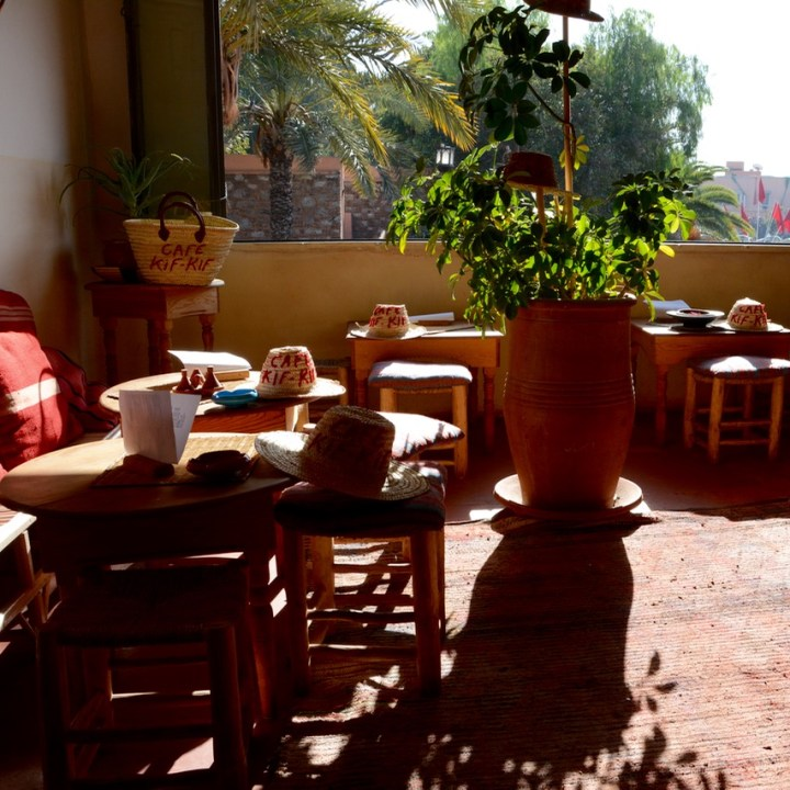 travel with children kids marrakech morocco anima garden andre heller cafe kif kif