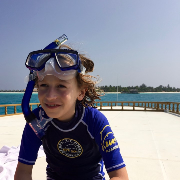 travel with children kids maldives lux south ari atoll happy child