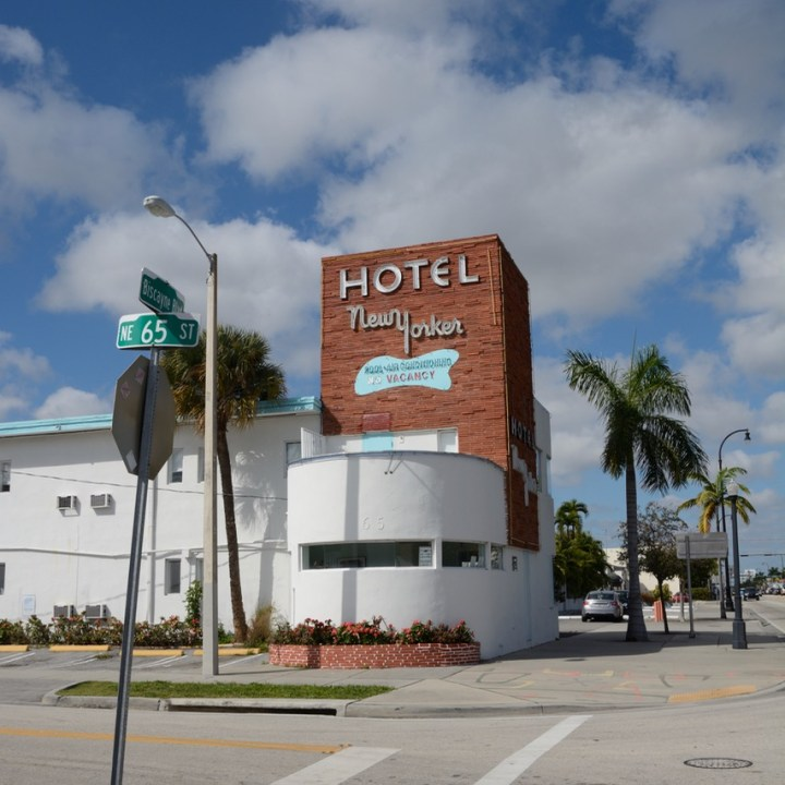 travel with kids children miami south biscayne boulevard motel new yorker