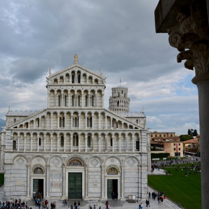 travel with kids children pisa italy miracle square baptistry dome view