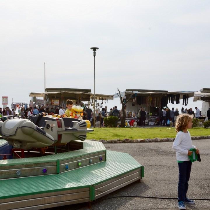travel with kids children pisa italy marina di pisa fun fair