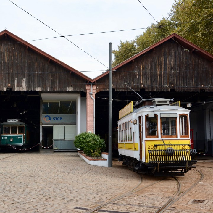 travel with kids children porto portugal tram museum