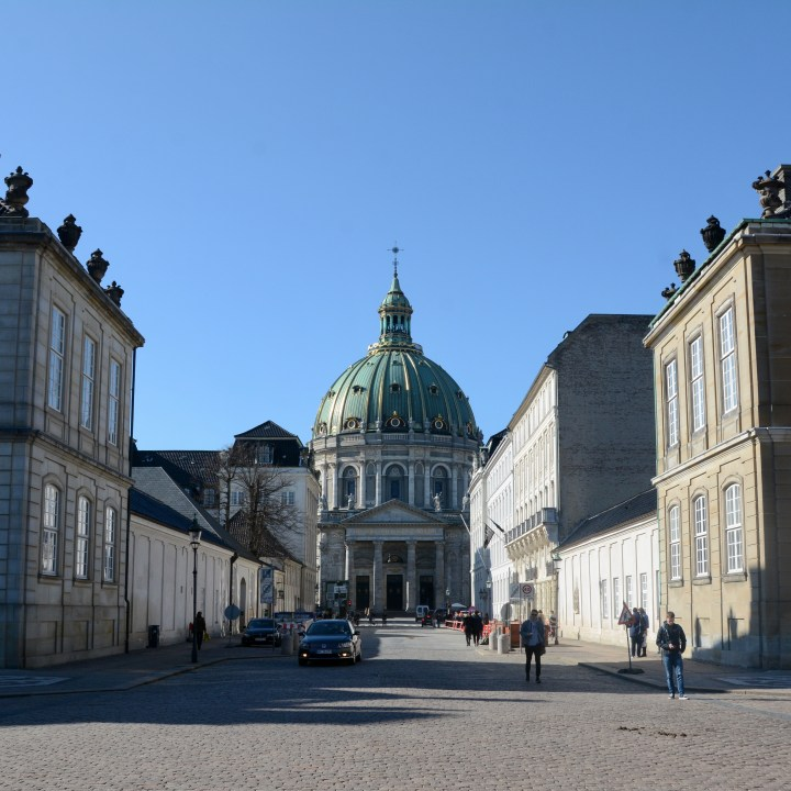 travel with kids children copenhagen denmark amalienborg cathedral