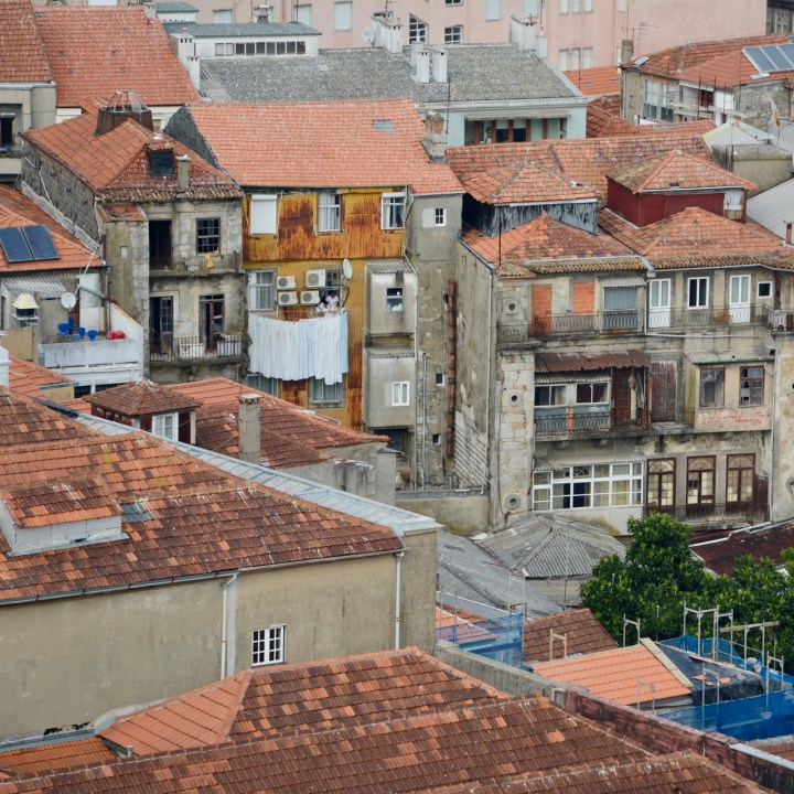 travel with kids children porto portugal view torre de clerigos