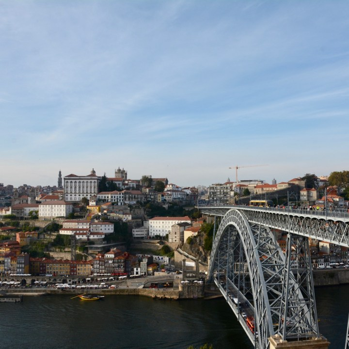 travel with kids children porto portugal post dom luis I