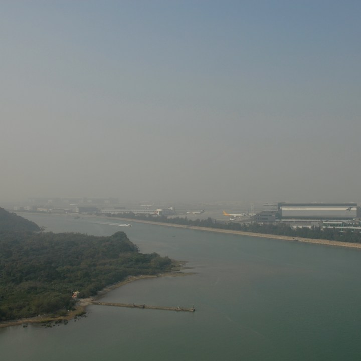 travel with kids children hong kong lantau big buddha cable car airport