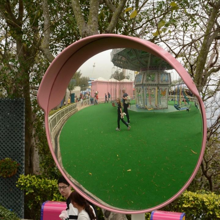 hong kong ocean park with kids children china carousel