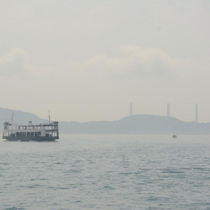 travel hong kong with kids children car ferry mamma island