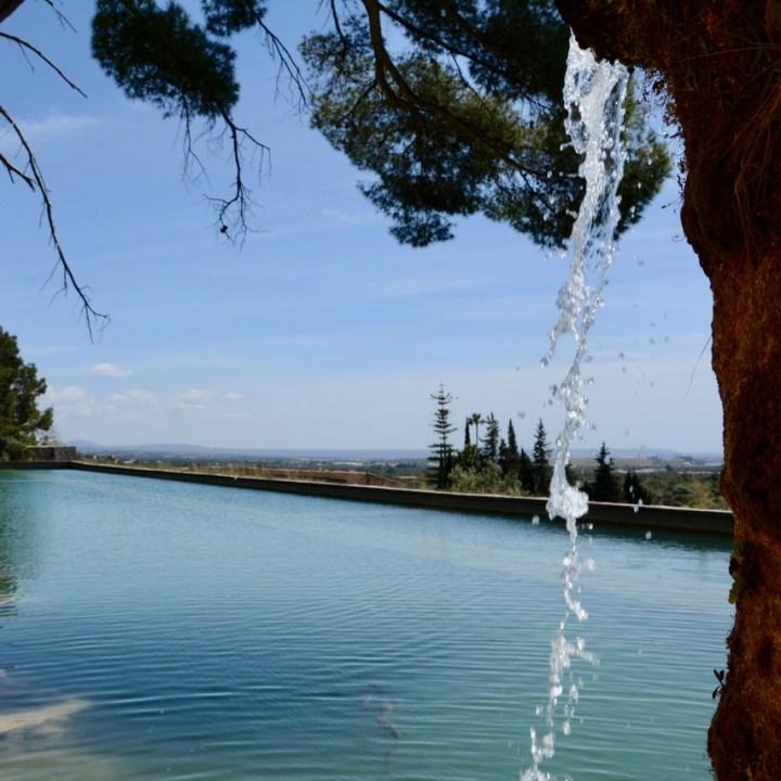 travel with kids children mallorca spain raixa estate water well
