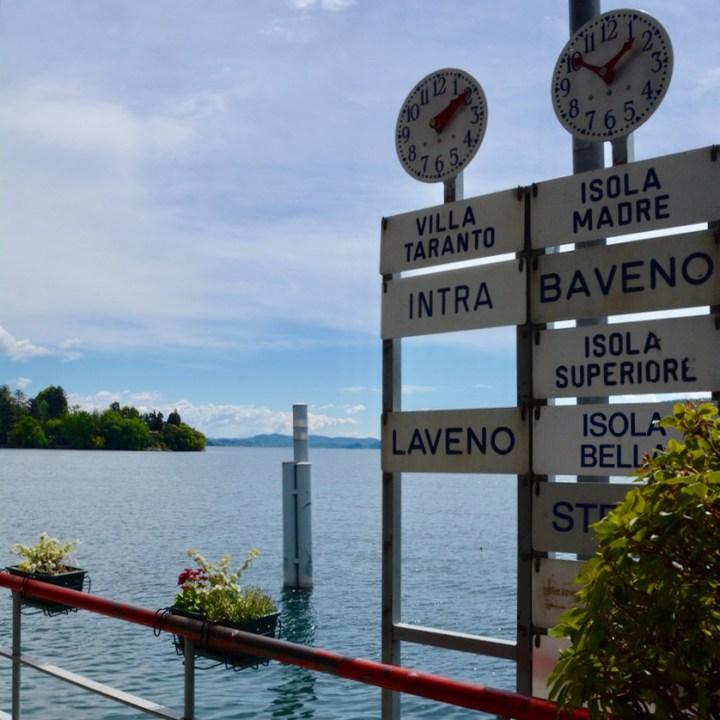 travel with kids children isola bella lago maggiore italy pallanza boat times