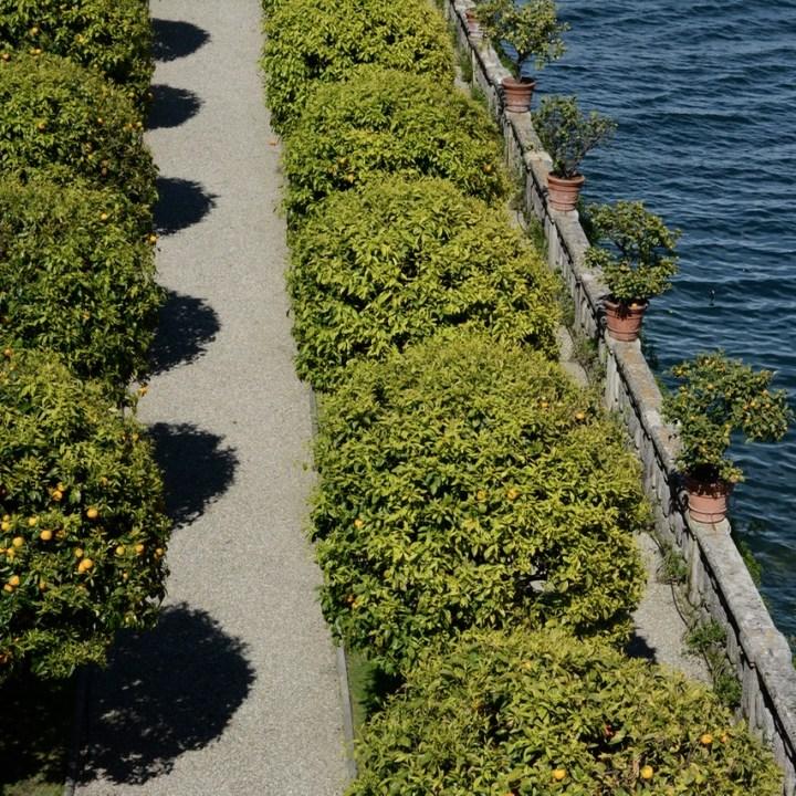 travel with kids children isola bella lago maggiore italy palazzo borromeo garden lemon trees