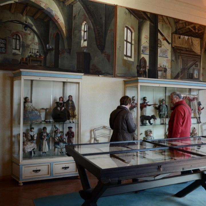 travel with kids children isola madre lago maggiore italy palazzo borromeo marionette collection