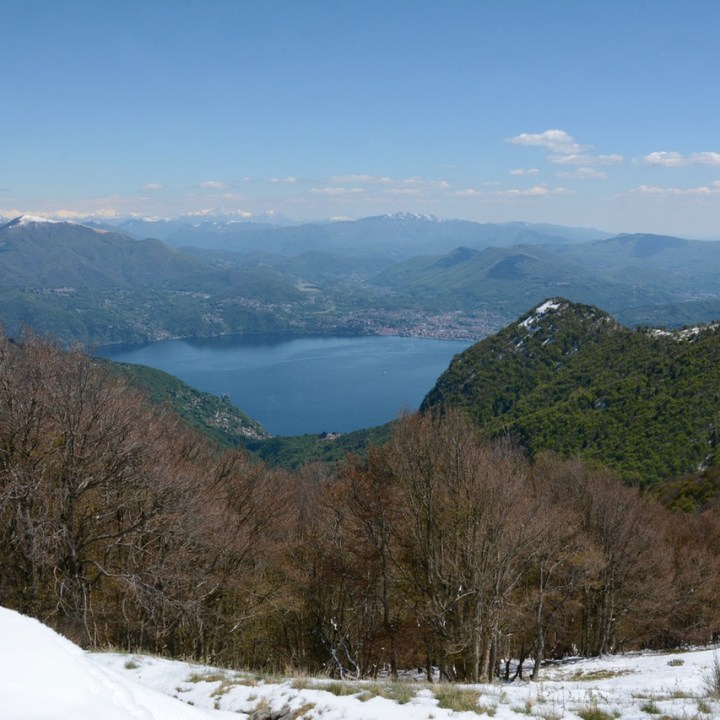 travel with kids children mount spalavera lago maggiore lake view