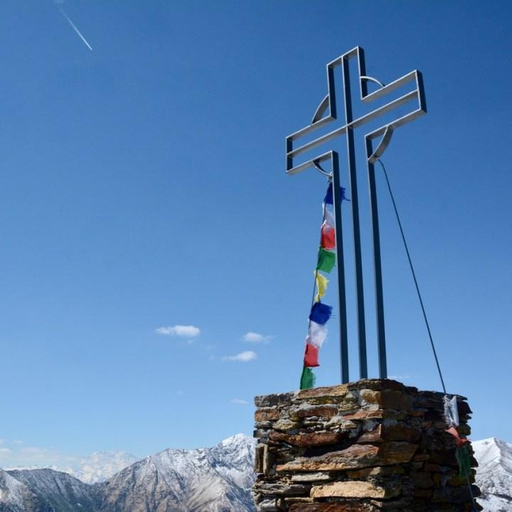 travel with kids children mount spalavera lago maggiore hiking summit cross