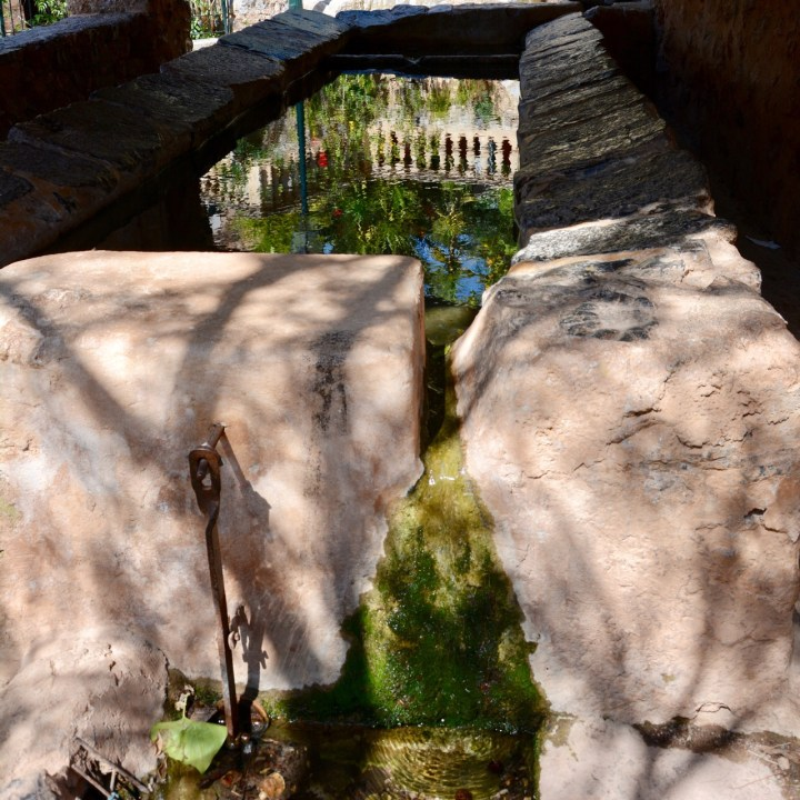 travel with kids children soller mallorca spain hiking fornalutx public wash house