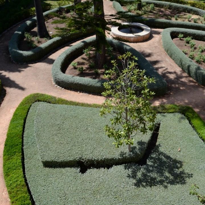 travel with kids children mallorca spain raixa estate loggia garden