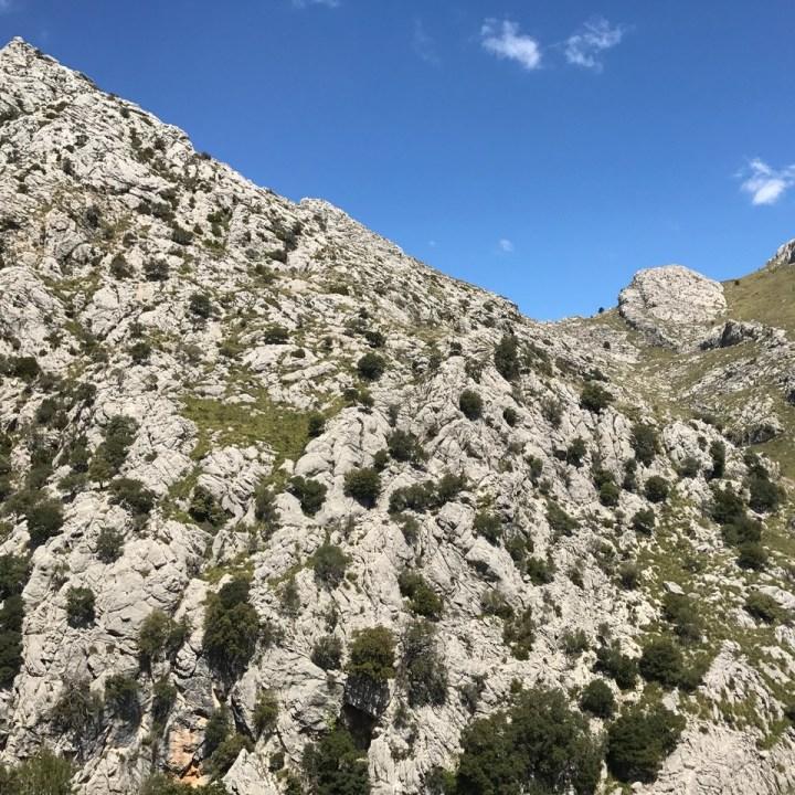 travel with kids children soller mallorca spain three mountain tops hike lofre rocks