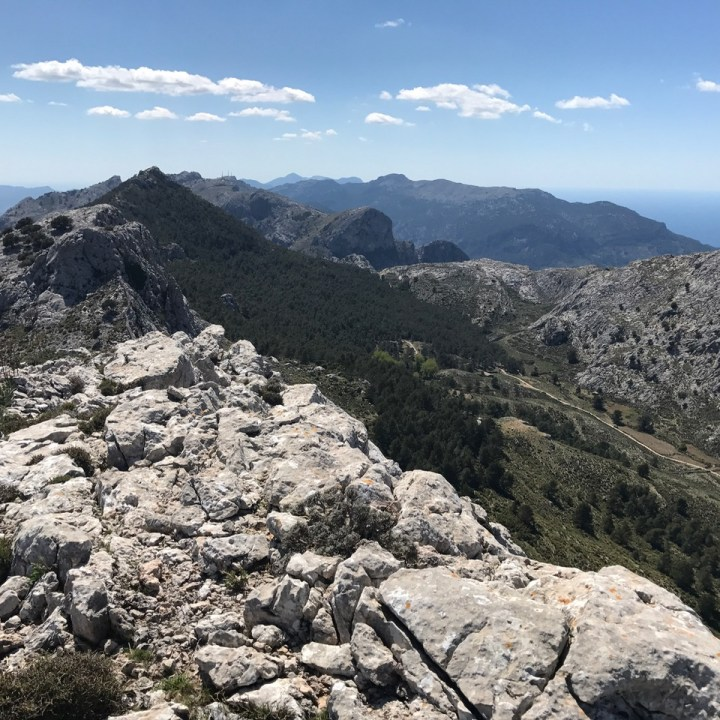 travel with kids children soller mallorca spain three mountain tops hike lofre