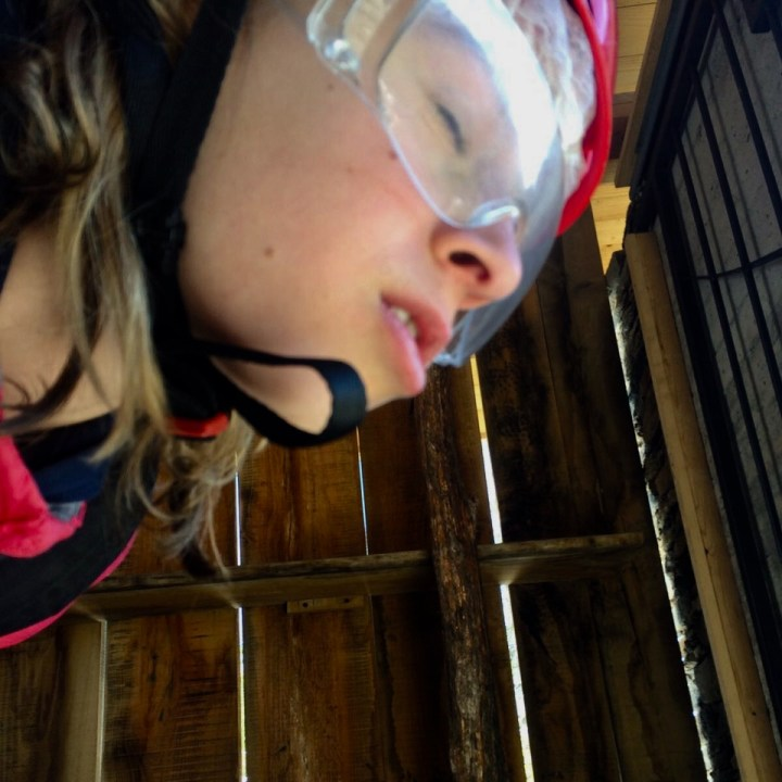 travel with kids children premono lago maggiore zip line glasses