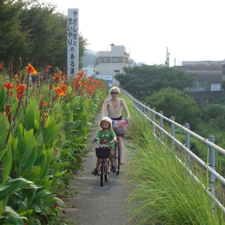 bike guide london kids bike ride japan