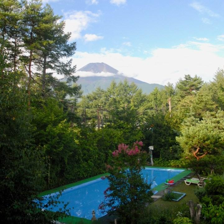 travel with kids hiking mount fuji japan view