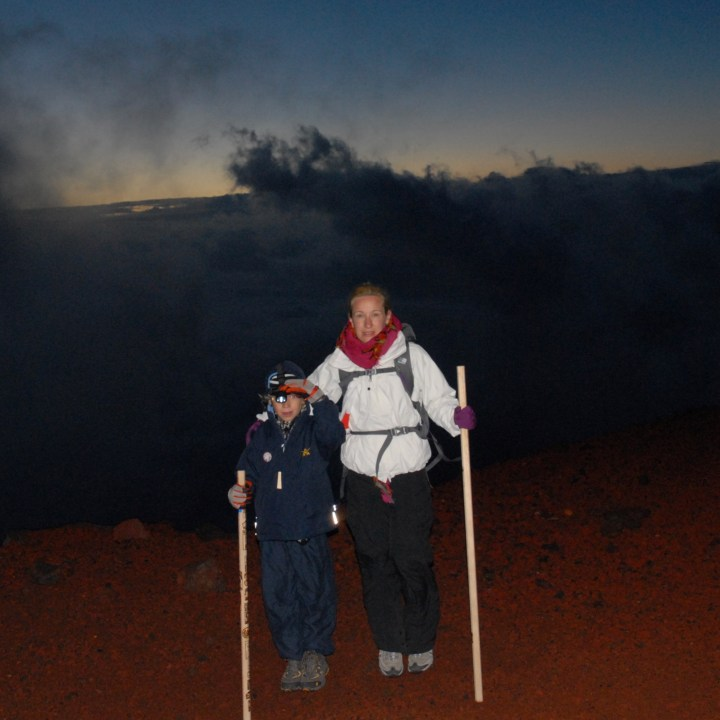 travel with kids hiking mount fuji japan