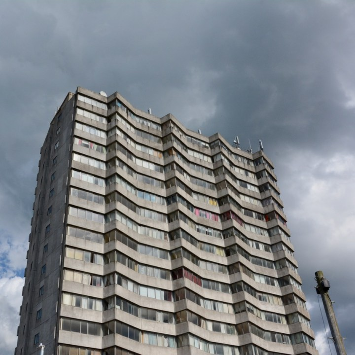 travel with kids children margate united kingdom brutalist tower block