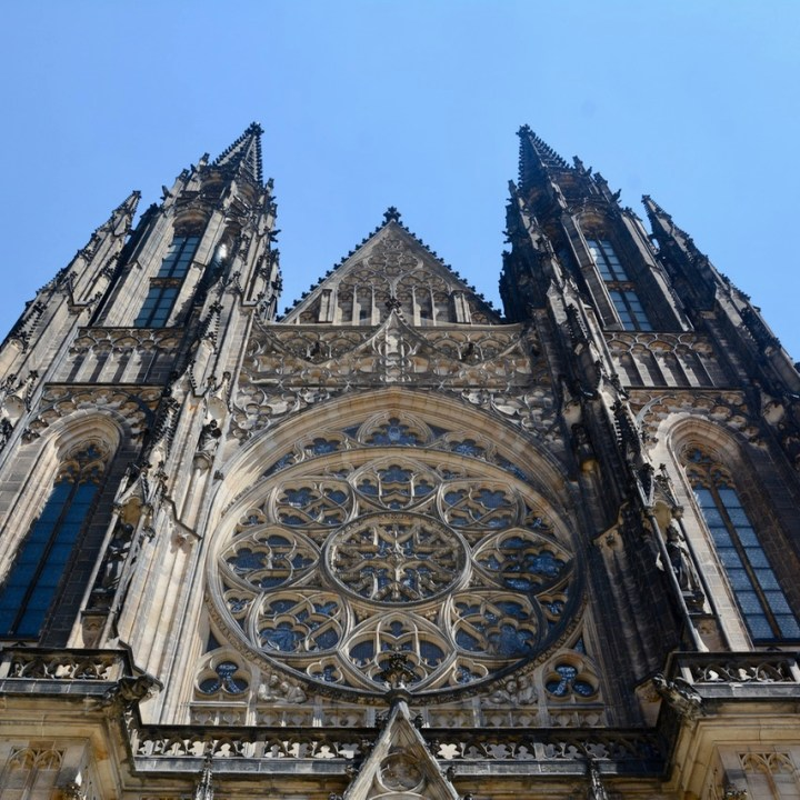 travel with kids prague st vitus cathedral