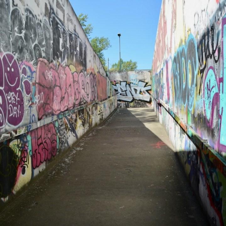 travel with kids prague graffiti