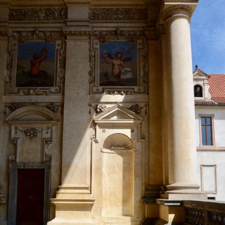 travel with kids prague wallenstein palace pavilion