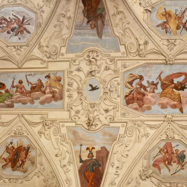 travel with kids prague wallenstein palace fresco