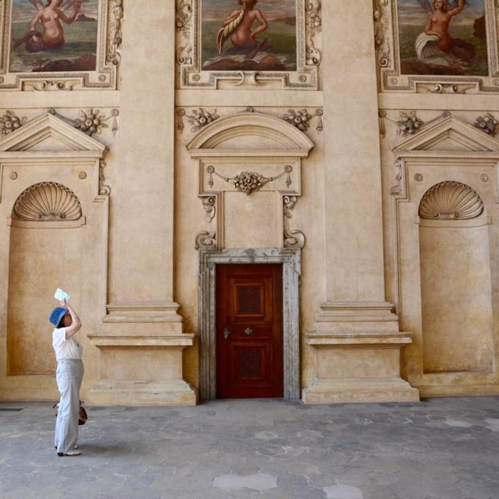 travel with kids prague wallenstein palace tourist