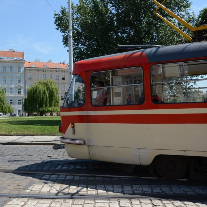 prague with kids guide tram ride