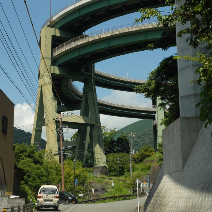 shimoda japan with kids kawazu loop bridge