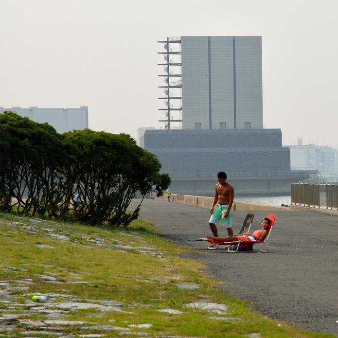 tokyo japan with kids cycling haneda sun seeker