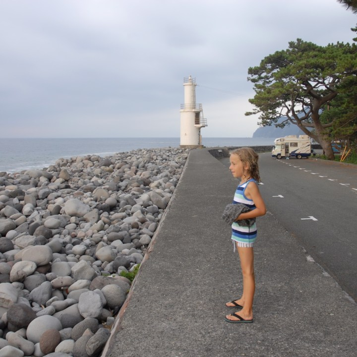heda japan with kids izu peninsular mihama misaki lighthouse