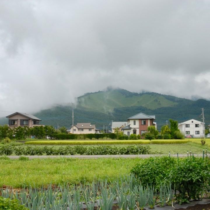 travel with kids japan fujiyoshida hiking rural village